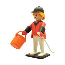 Figurine Playmobil Nostalgia Cavalier 25 cm Plastoy Boutique Geneve Suisse