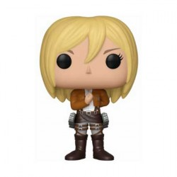 Figurine Pop Anime Attack on Titan 3rd Season Christa Funko Boutique Geneve Suisse