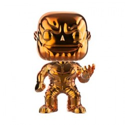 Figurine Pop Avengers Infinity War Thanos Orange Chrome Edition Limitée Funko Boutique Geneve Suisse