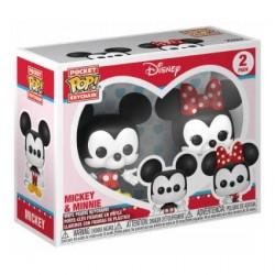 Figurine Pop Pocket Porte Clés Mickey & Minnie Funko Boutique Geneve Suisse