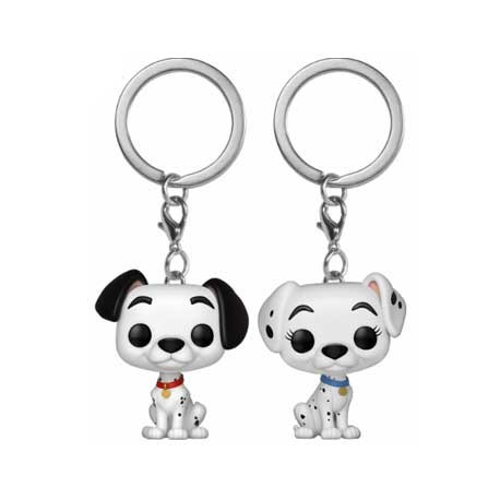 Toys Pop Pocket Disney 101 Dalmatians Pongo Perdita Funko Swizerl