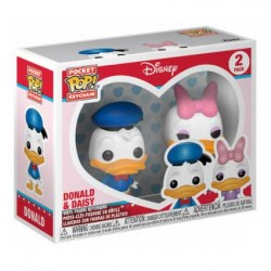 Figur Pop Pocket Keychains Donald & Daisy Funko Geneva Store Switzerland