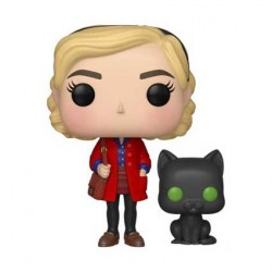 Figurine Pop TV Chilling Adventures of Sabrina - Sabrina Spellman with Salem Funko Boutique Geneve Suisse