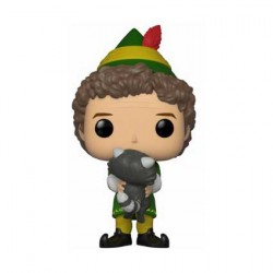 Figurine Pop Movies Elf Buddy with Raccoon Edition Limitée Funko Boutique Geneve Suisse