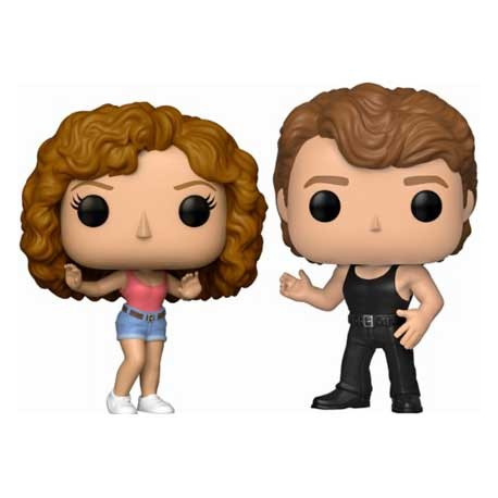 Figur Pop Movies Dirty Dancing Johnny and Baby 2-Pack Limited Edition Funko Geneva Store Switzerland