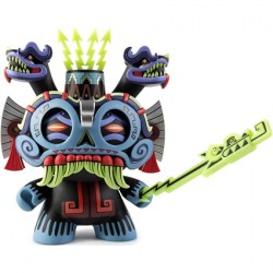 Figurine Dunny Tlaloc 20 cm par Jesse Hernandez Kidrobot Boutique Geneve Suisse