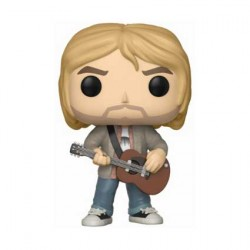 Figurine Pop Rocks Kurt Cobain with Sweater Edition Limitée Funko Boutique Geneve Suisse