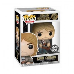 Figurine Pop Rocks Kurt Cobain MTV Unplugged Edition Limitée Funko Boutique Geneve Suisse