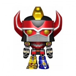 Figurine Pop TV Power Rangers 15 cm Metallic Megazord Edition Limitée Funko Boutique Geneve Suisse