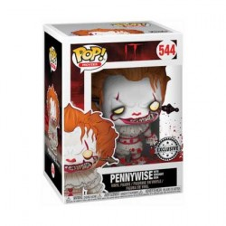 Figurine Pop Horror IT Pennywise with Wrought Iron Edition Limitée Funko Boutique Geneve Suisse