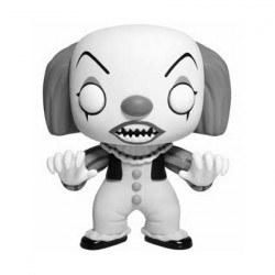 Figurine Pop IT Classic Black and White Pennywise Edition Limitée Funko Boutique Geneve Suisse