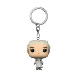 Figur Pop Pocket Keychains Game of Thrones Daenerys White Coat Funko Geneva Store Switzerland