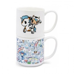 Figur Tokidoki Moofia Stacking Ceramic Mug Set Thumbs Up Geneva Store Switzerland