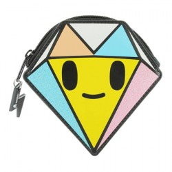 Tokidoki Wallet Mini Glitter Diamond