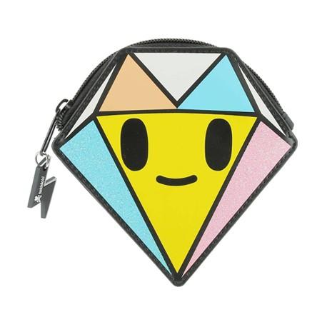 Figur Tokidoki Wallet Mini Glitter Diamond ZigZag Island Geneva Store Switzerland