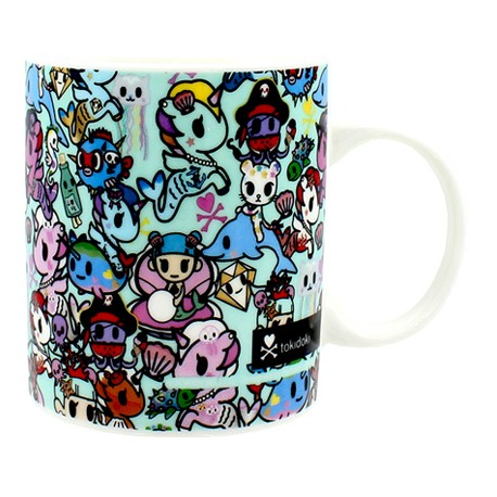 Figuren Tasse Tokidoki Mermicorno Thumbs Up Genf Shop Schweiz