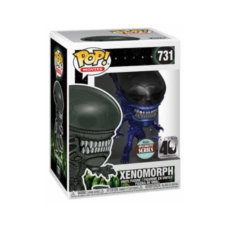 Figur Pop Alien 40th Xenomorph Blue Metallic Limited Edition Funko Geneva Store Switzerland
