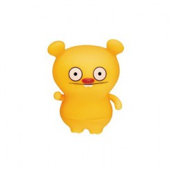 Figurine Uglydoll Trunko Jaune par David Horvath Pretty Ugly Boutique Geneve Suisse