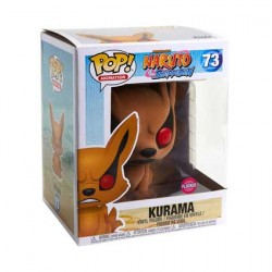 Figurine Pop 15 cm Naruto Kurama Floqué Edition Limitée Funko Boutique Geneve Suisse