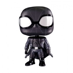 Figurine Pop Marvel Animated Spider-Man Noir Edition Limitée Funko Boutique Geneve Suisse