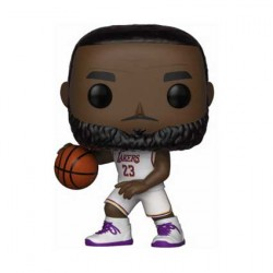 Figurine Pop Basketball NBA Lakers Lebron James White Uniform Funko Boutique Geneve Suisse