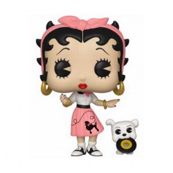 Figurine Pop Cartoons Betty Boop Sock Hop Funko Boutique Geneve Suisse