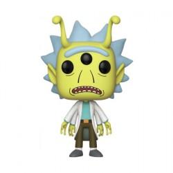 Figurine Pop ECCC 2018 Rick et Morty Alien Rick Edition Limitée Funko Boutique Geneve Suisse