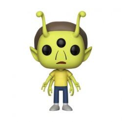 Figuren Pop ECCC 2018 Rick & Morty Alien Morty Limitierte Auflage Funko Genf Shop Schweiz