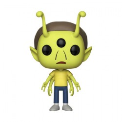 Figurine Pop ECCC 2018 Rick et Morty Alien Morty Edition Limitée Funko Boutique Geneve Suisse