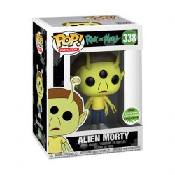 Figuren Pop ECCC 2018 Rick & Morty Alien Morty Limitierte Auflage Funko Genf Shop Schweiz