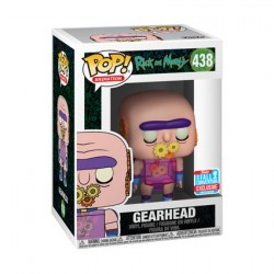 Figur Pop NYCC 2018 Rick and Morty Gearhead Limited Edition Funko Geneva Store Switzerland