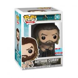 Figurine Pop NYCC 2018 Aquaman 2018 Arthur Curry Edition Limitée Funko Boutique Geneve Suisse