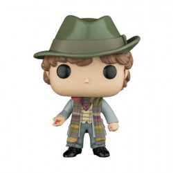 Figurine Pop Doctor Who 4th Doctor with Jelly Babies Edition Limitée Funko Boutique Geneve Suisse