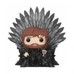Figurine Pop Deluxe Game of Thrones Tyrion Sitting on Iron Throne Funko Boutique Geneve Suisse