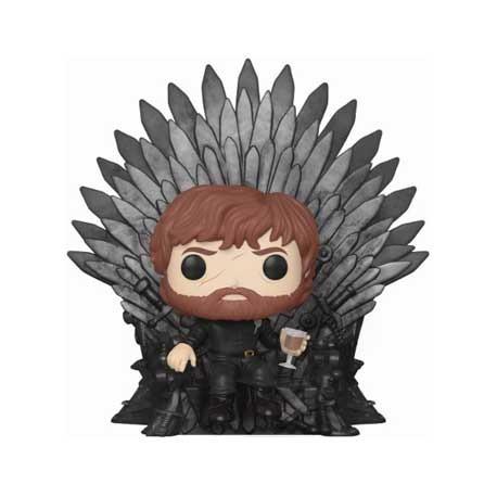 Figur Pop Deluxe Game of Thrones Tyrion Sitting on Iron Throne Funko Geneva Store Switzerland