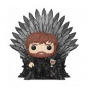 Pop Deluxe Game of Thrones Tyrion Sitting on Iron Throne