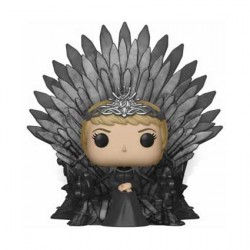 Figurine Pop Deluxe Game of Thrones Cersei Lannister Sitting on Iron Throne Funko Boutique Geneve Suisse