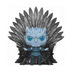 Figurine Pop Deluxe Game of Thrones Night King Sitting on Iron Throne Funko Boutique Geneve Suisse