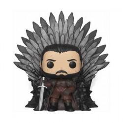 Figur Pop Deluxe Game of Thrones Jon Snow Sitting on Iron Throne Funko Geneva Store Switzerland