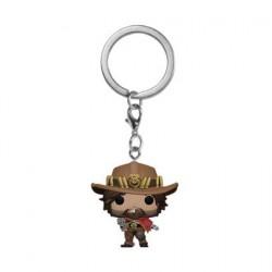 Figuren Pop Pocket Schlüsselanhänger Overwatch McCree Funko Genf Shop Schweiz