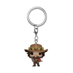 Figurine Pop Pocket Porte Clés Overwatch McCree Funko Boutique Geneve Suisse