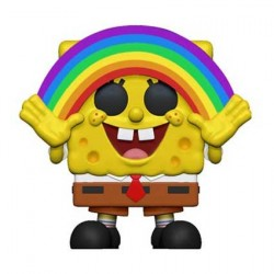 Figurine Pop Cartoons Spongebob Rainbow Funko Boutique Geneve Suisse