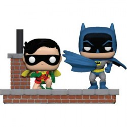 Figurine Pop DC Batman 80th 1969 Movie Moment Batman et Robin Funko Boutique Geneve Suisse