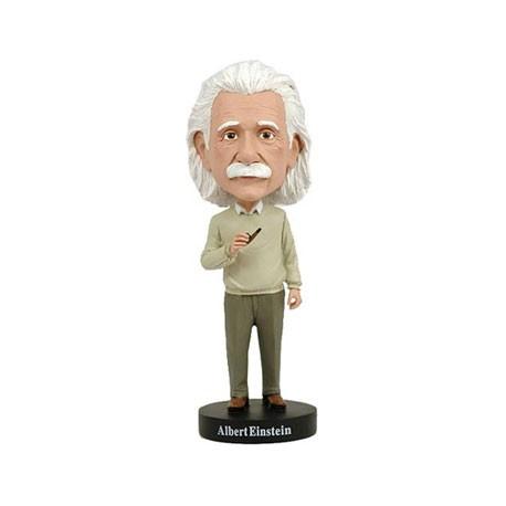 Figur Albert Einstein Bobble Head Cold Resin Royal Bobbleheads Geneva Store Switzerland