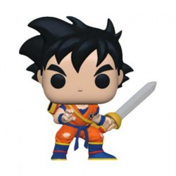 Figurine Pop Dragon Ball Z Young Gohan with Sword Edition Limitée Funko Boutique Geneve Suisse
