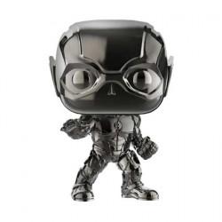 Figur Pop Justice League The Flash Hematite Black Chrome Limited Edition Funko Geneva Store Switzerland