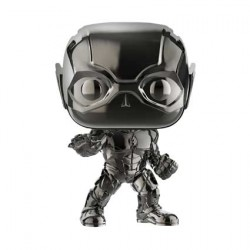 Figurine Pop Justice League The Flash Hematite Black Chrome Edition Limitée Funko Boutique Geneve Suisse