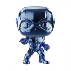 Figurine Pop Justice League Flash Light Blue Chrome Edition Limitée Funko Boutique Geneve Suisse