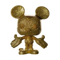 Figurine Pop Disney Mickey Mouse Gold Diamond Edition Limitée Funko Boutique Geneve Suisse