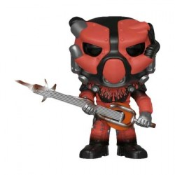 Figuren Pop Fallout 76 X-01 Power Armor Red Limitierte Auflage Funko Genf Shop Schweiz